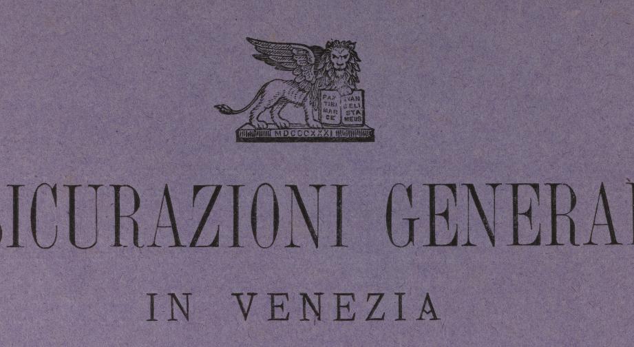 Financial statements for 1879 in Italian liras, lion detail / ph. Duccio Zennaro