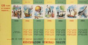 Advertising brochure for the celebration of the 120th anniversary / ph. Duccio Zennaro