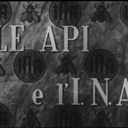 """Frame tratto dal film """"Le Api e l'INA"""""""