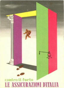 Assitalia postcard (1955)