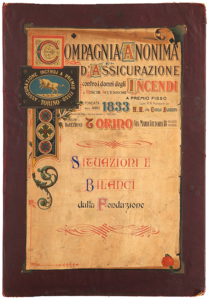 Financial accounts and reports from the Company's foundation (1910)