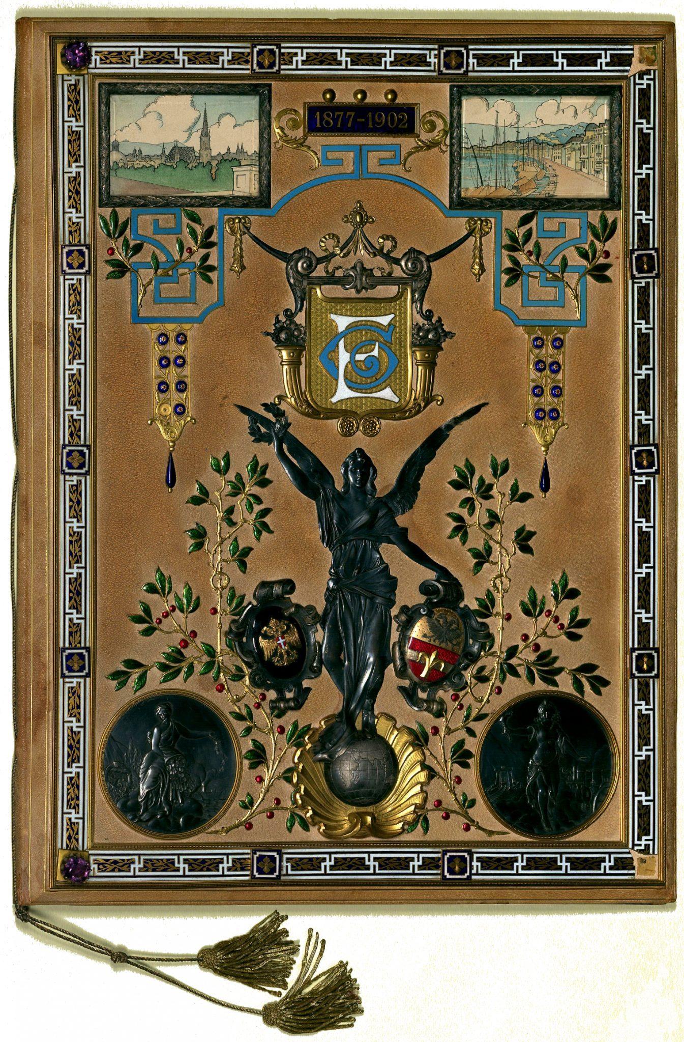 Diploma di Ermanno Gentilli (Vienna, 1902)