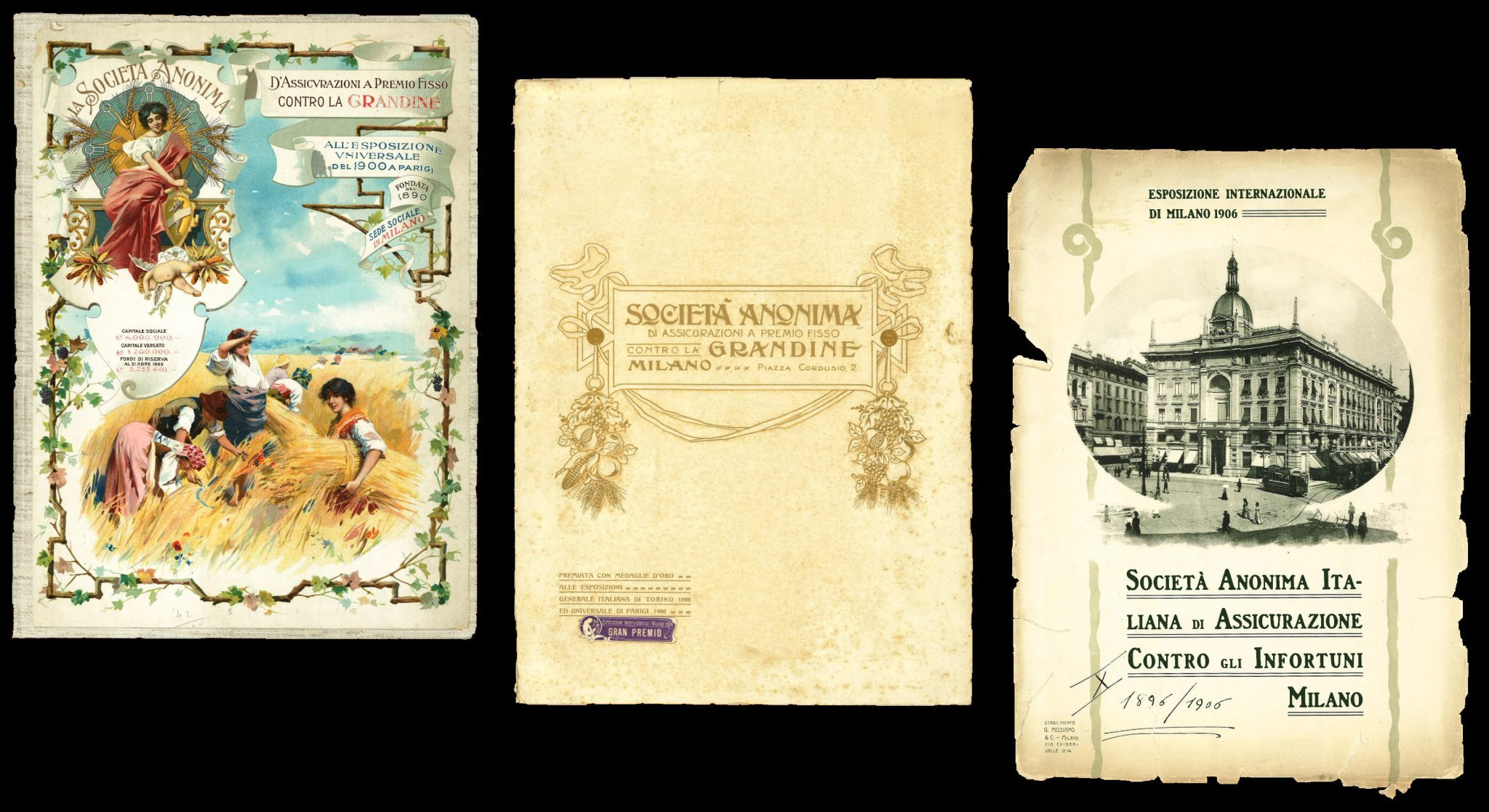 Memorie 1884, 1900, 1906