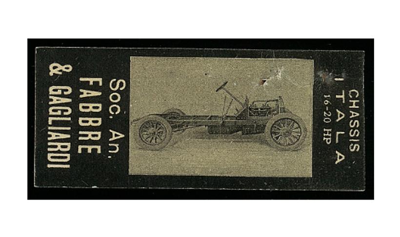 Figurina Fabbre & Gagliardi [XX secolo]