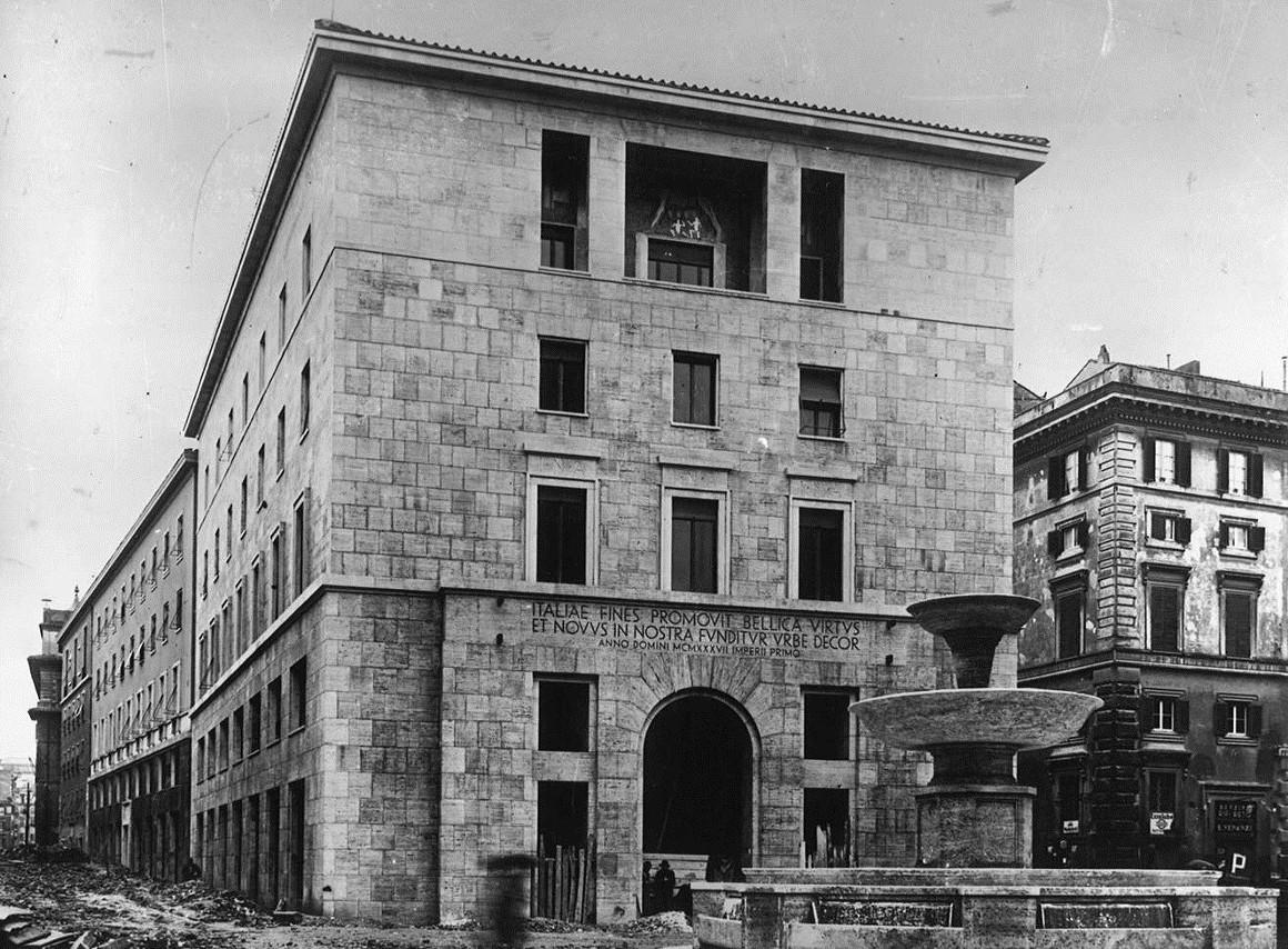 Palazzo di corso del Rinascimento, 1° lotto (1940 ca.)
