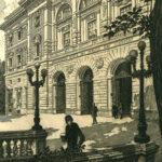 Palazzo di via Sallustiana 51 da un'incisione (1927)