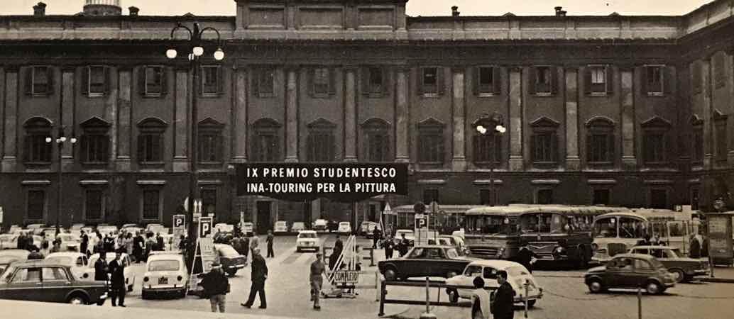 IX Edizione del Premio Internazionale Studentesco INA-Touring per la Pittura in Palazzo Reale a Milano (1966)