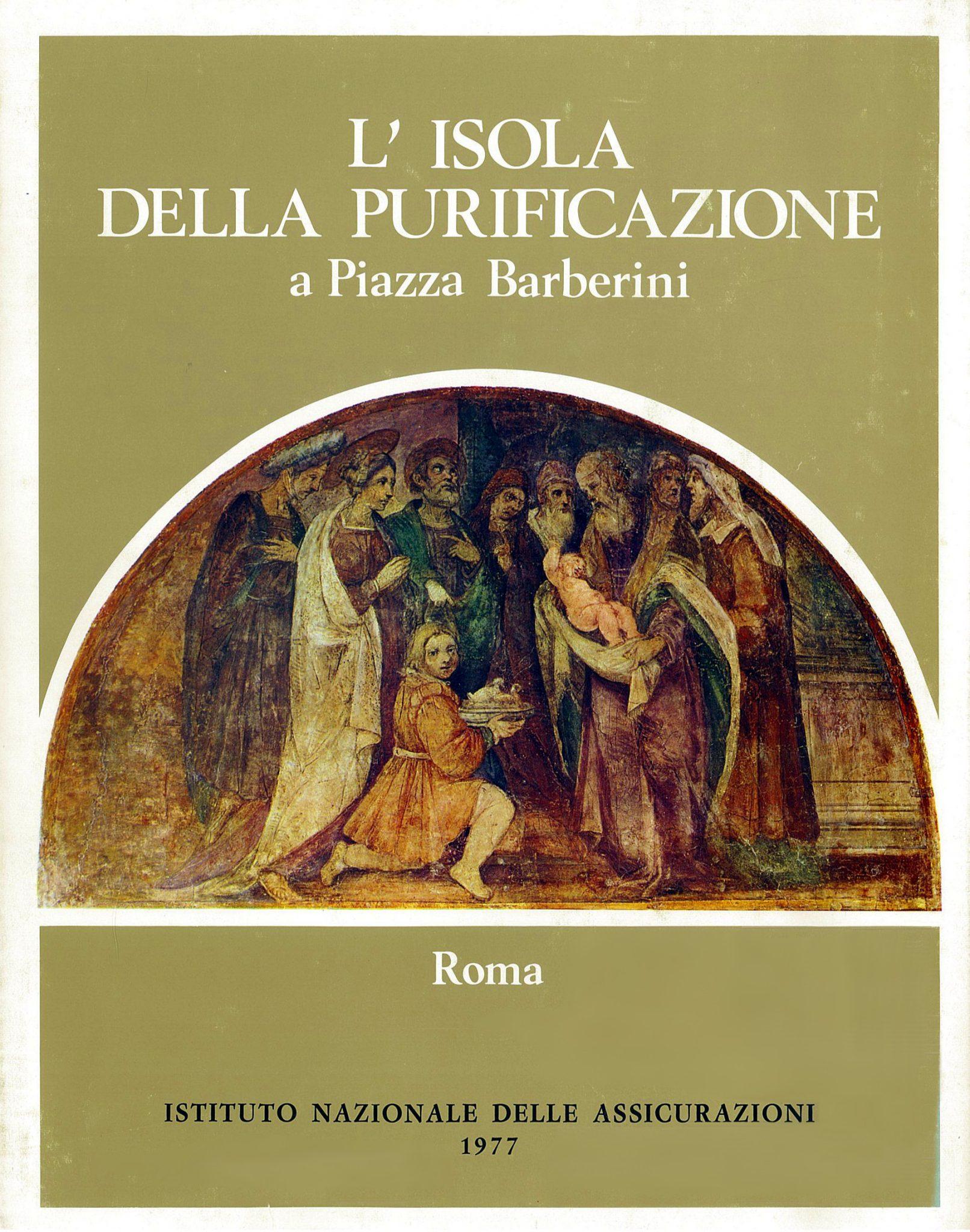 Il volume L'Isola della Purificazione a Piazza Barberini (1977)