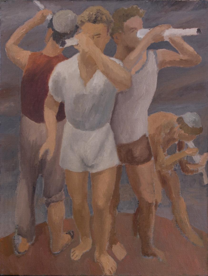 Guglielmo Janni, Figure di Atleti (Portraits of Athletes, 1935)