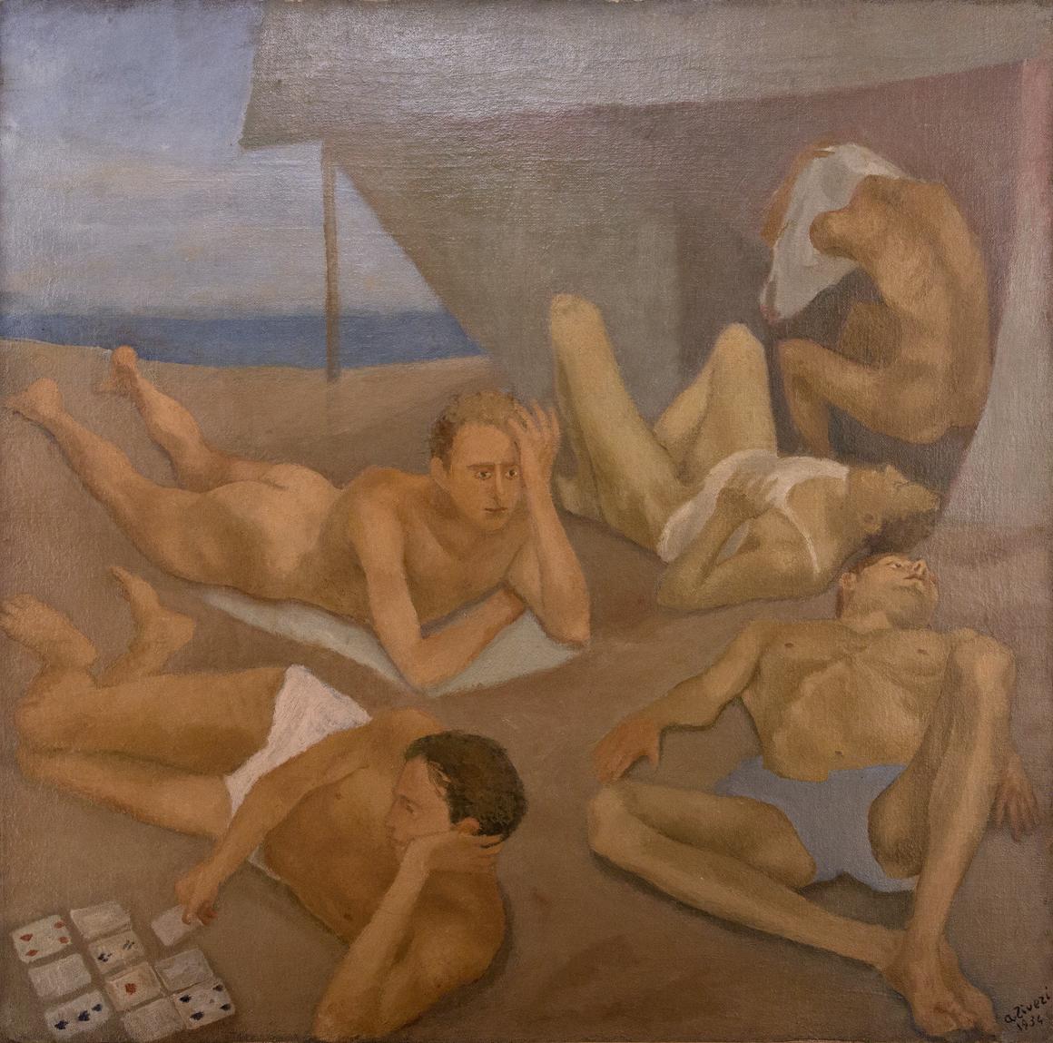 Alberto Ziveri, La Spiaggia (The Shore, 1934)