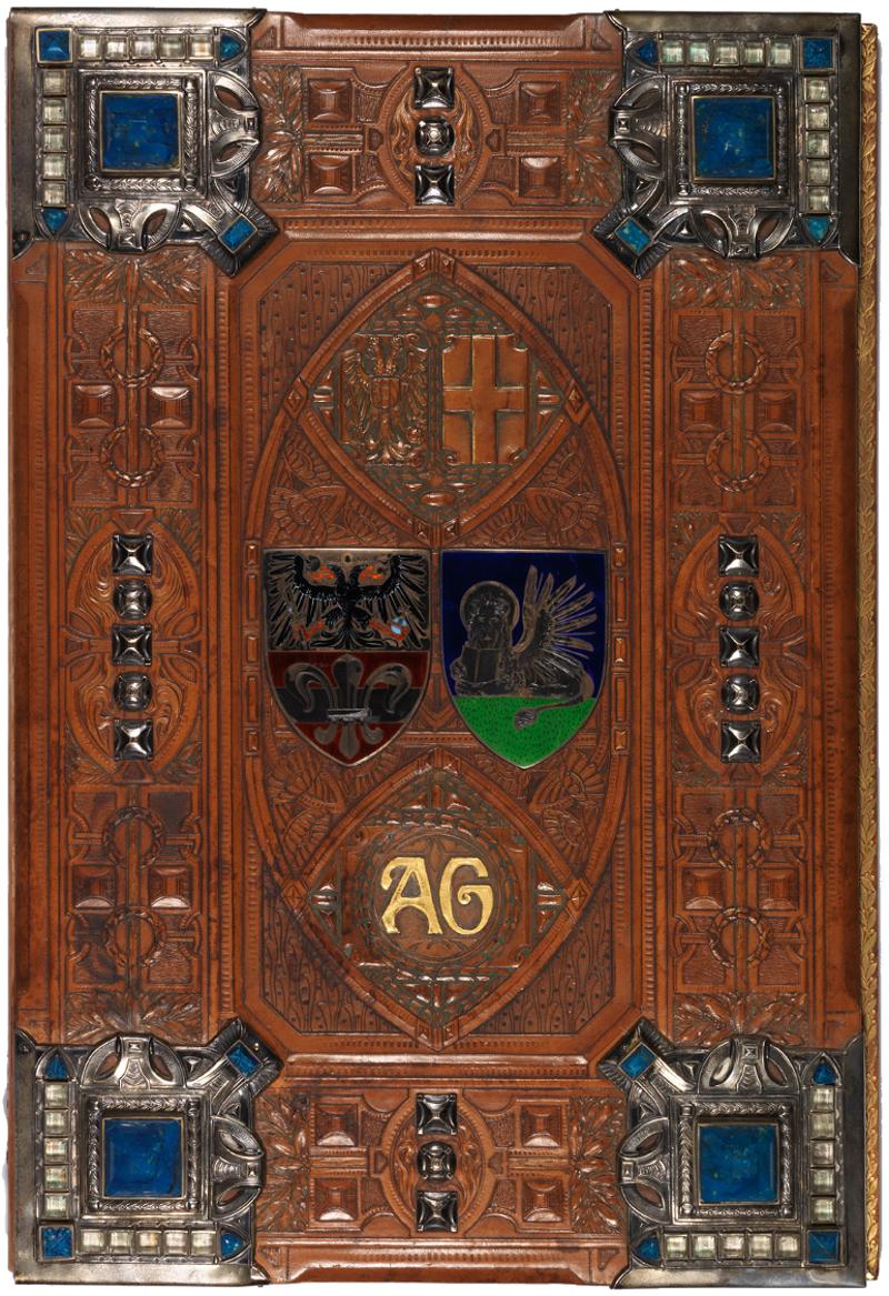 Diploma inviato dalle agenzie della Direzione Centrale (Amburgo, 1907) / ph. Duccio Zennaro