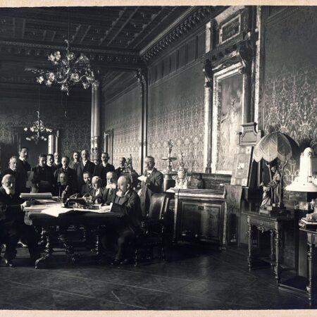 La Direzione delle Generali a palazzo Geiringer (Trieste, 1907)