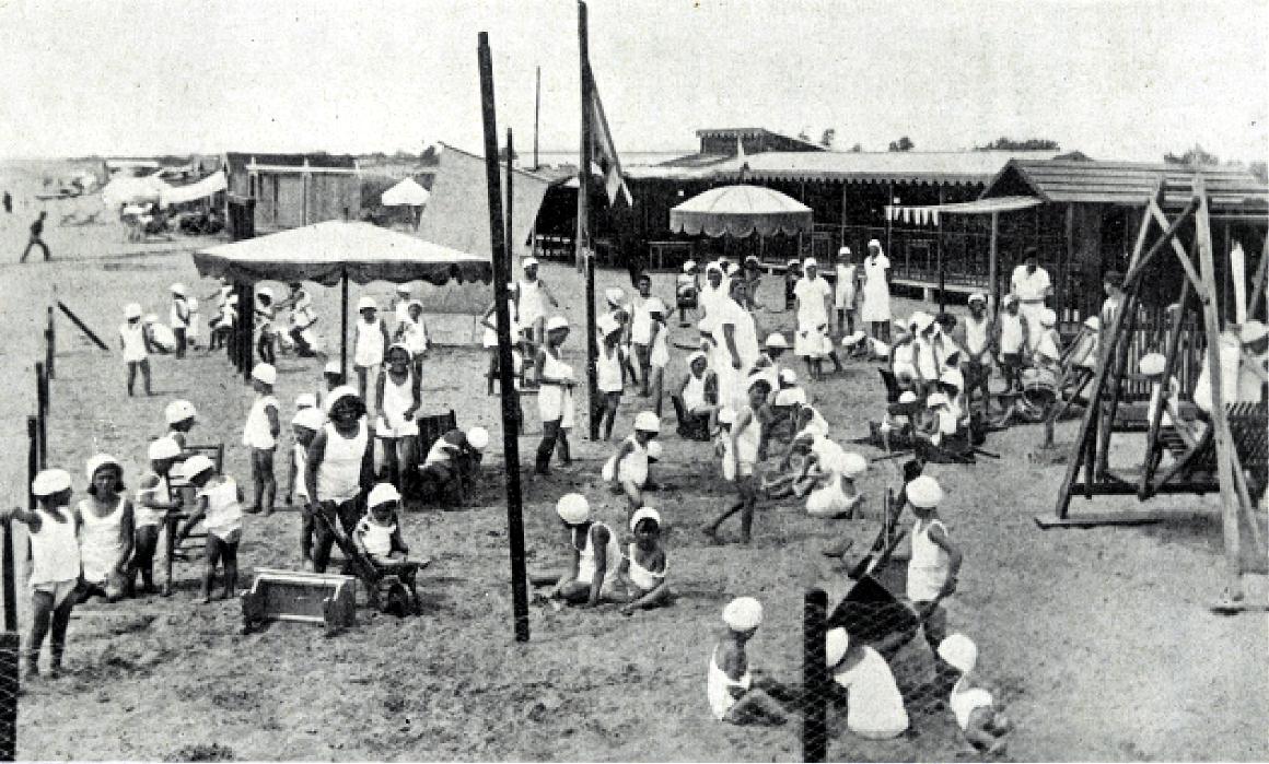 Colonia marina di Ca' Corniani a Caorle (Venezia, 1933)