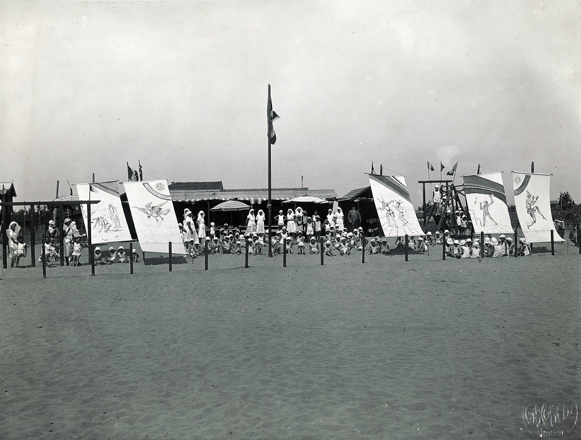 Colonia marina di Ca' Corniani a Caorle (Venezia, 1934)