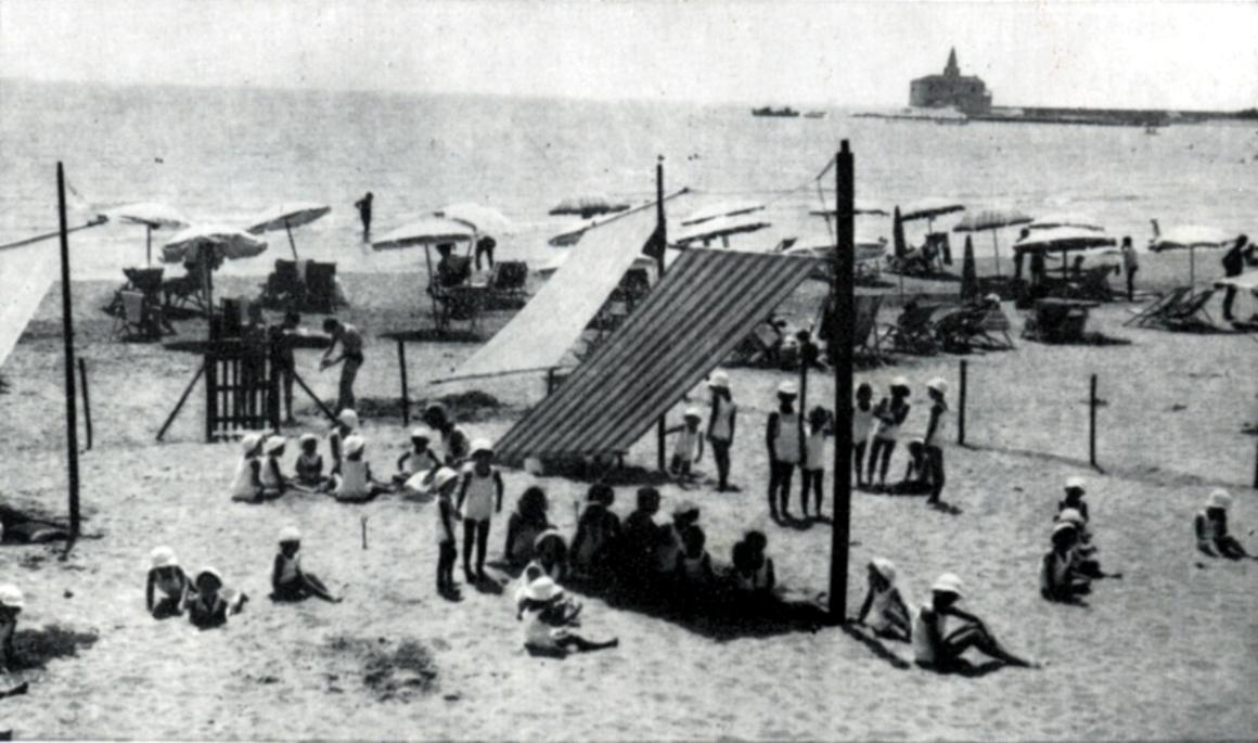 Colonia marina di Ca' Corniani a Caorle (Venezia, 1957)