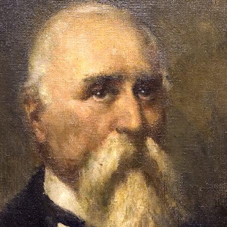 Gino Parin, Daniele Francesconi, oil on canvas (late 1920s) / ph. Massimo Goina