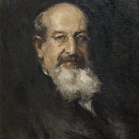Gino Parin, portrait of Edmondo Richetti, oli on canvas (end of the 1920s) / ph. Massimo Goina