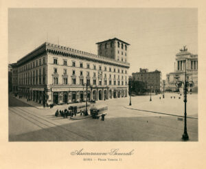 Generali Headquarters in Piazza Venezia, Rome (1902-1907) / ph. Duccio Zennaro
