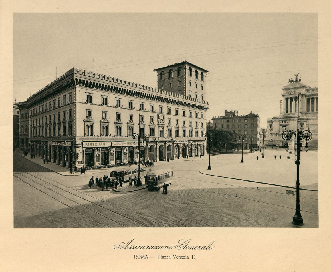 Palazzo di Generali in piazza Venezia, Roma (1902-1907) / ph. Duccio Zennaro