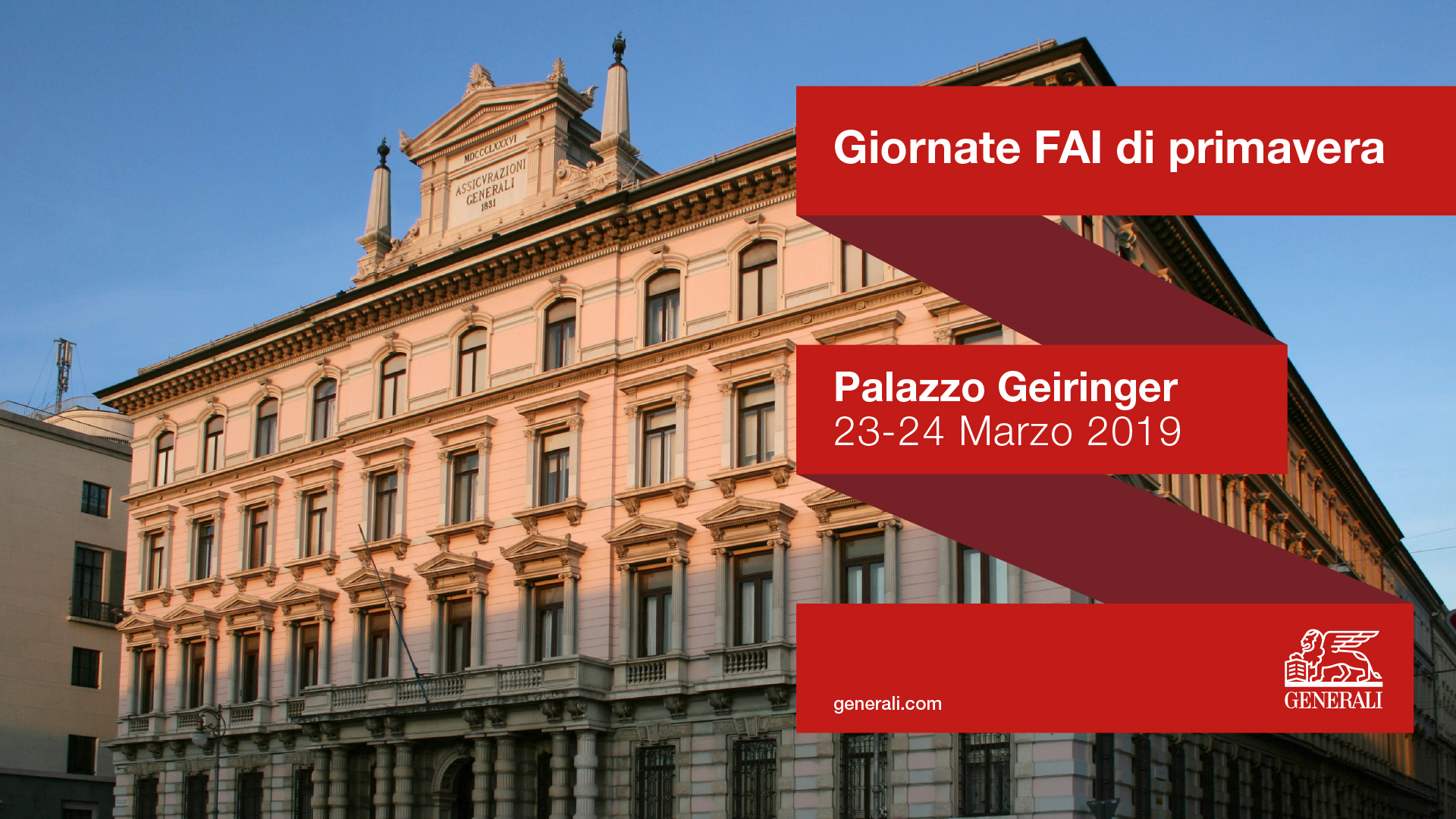 Palazzo Geiringer, historical headquarters of the Central Head Office of Assicurazioni Generali (1886)