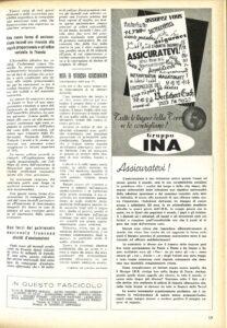 """""""Assicuratevi"""" nelle Cronache dell'INA (Roma, marzo 1954)"""