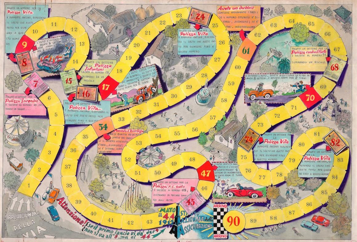 Il circuito dei rischi, bozza (anni sessanta del XX secolo)