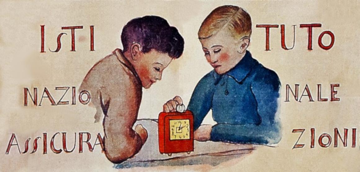 Il Giuoco del piccolo previdente, detail (1933)