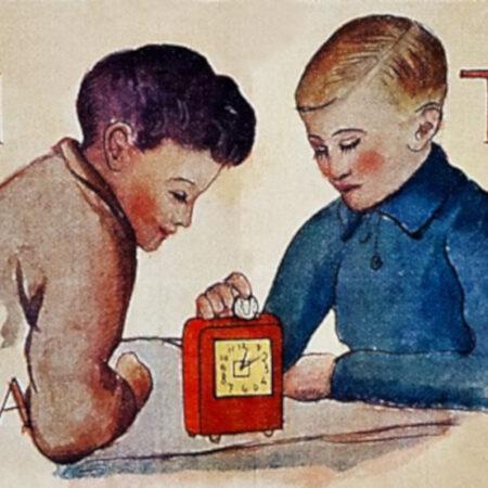 Il Giuoco del piccolo previdente, particolare (1933)