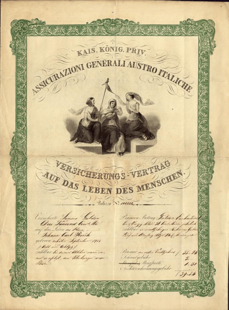 Polizza vita (1839)