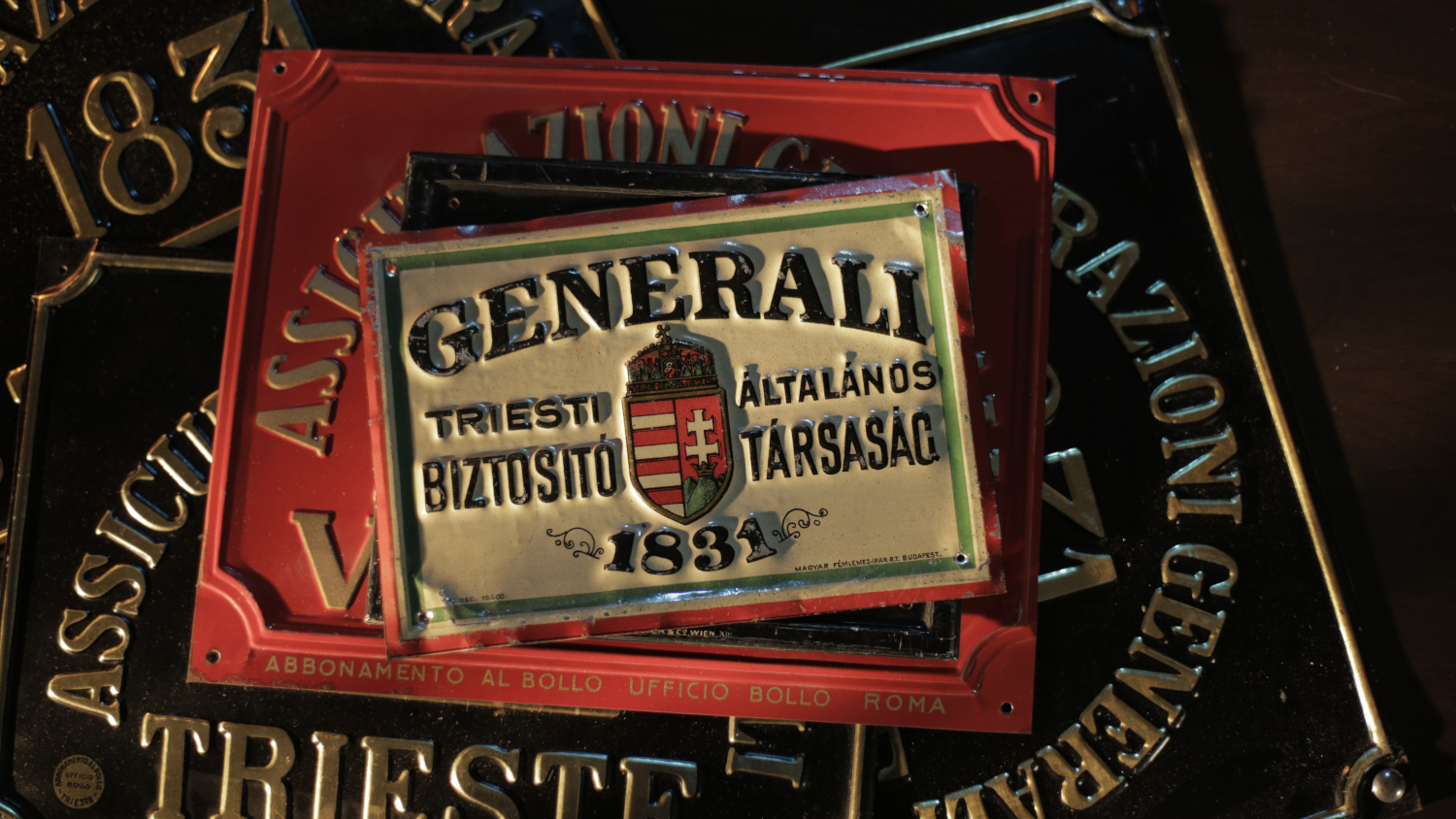 Generali Fire Marks (19th-20th century)