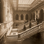Palazzo Geiringer, grand staircase [before 1888]