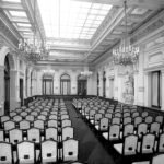 Palazzo Geiringer, assembly hall (second half of the 1960s)