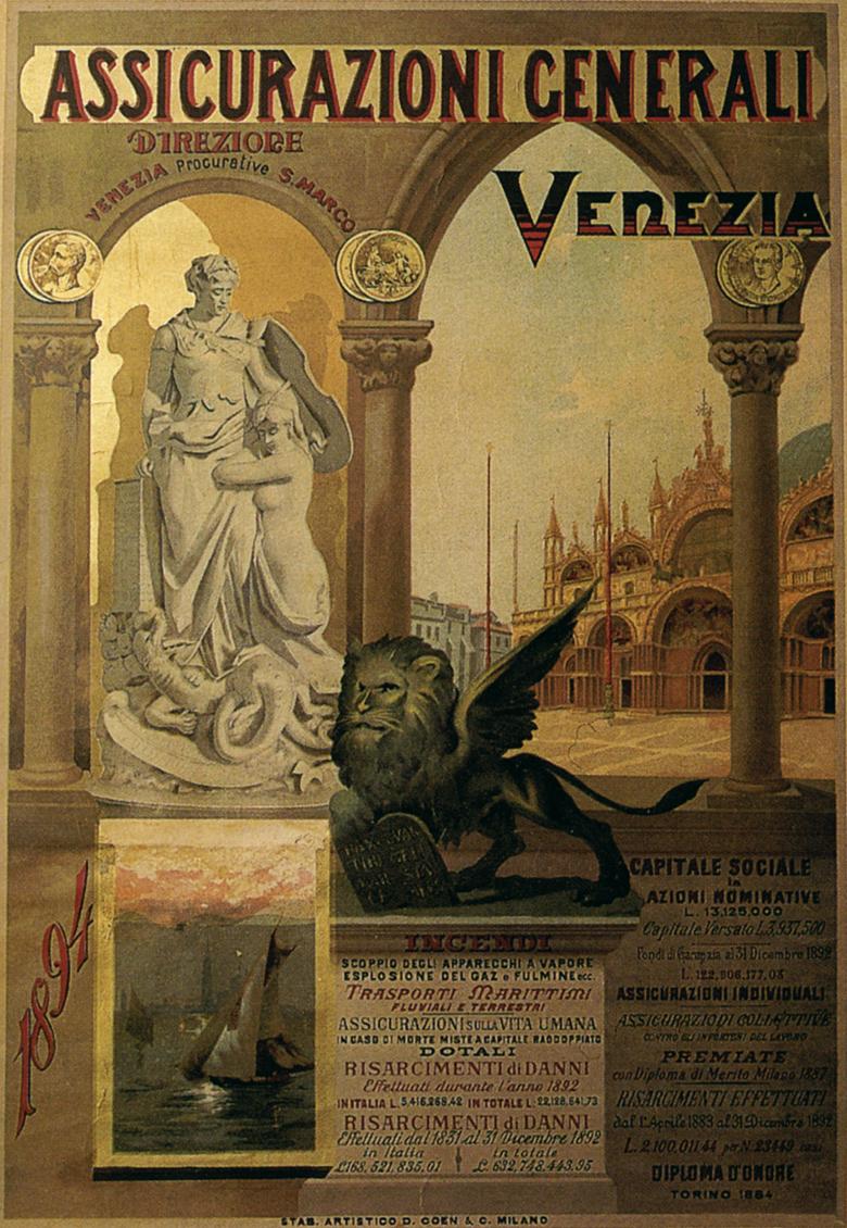 Calendario murale (1892)