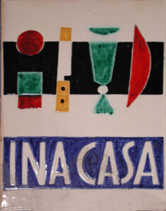 INA Casa ceramic tile (1949-1963)