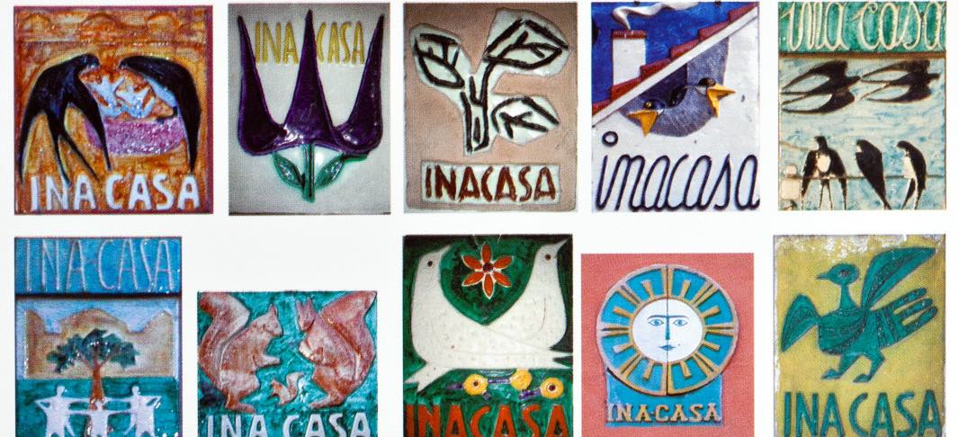 INA Casa ceramic tiles (1949-1963)