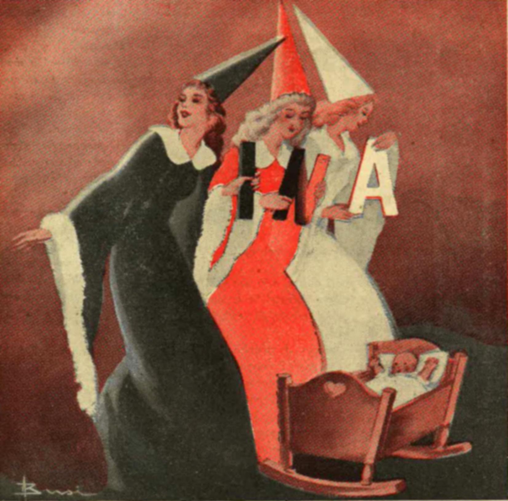 Adolfo Busi, Tre fate (1950)