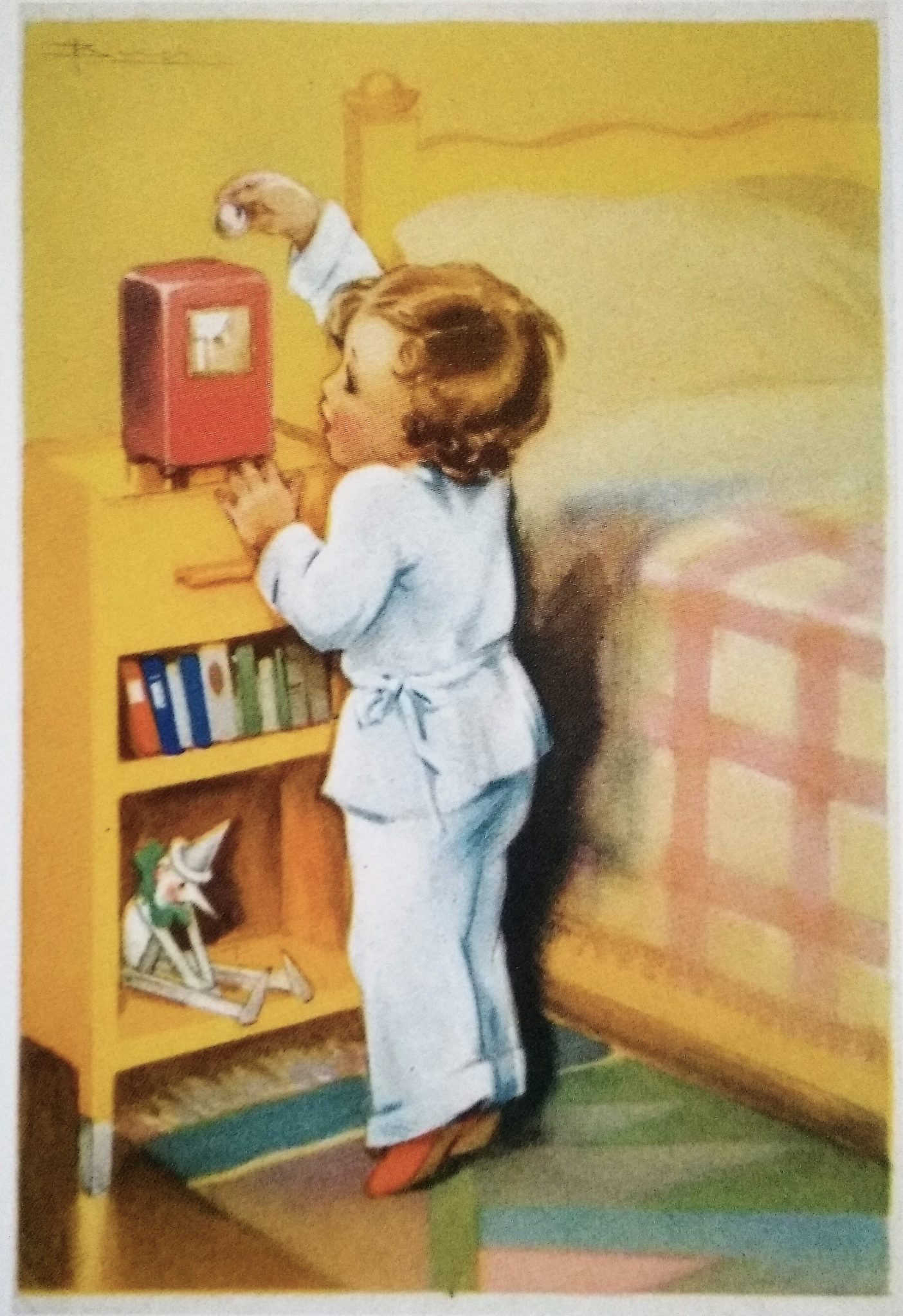 Adolfo Busi, cartolina INA (anni quaranta del XX secolo)