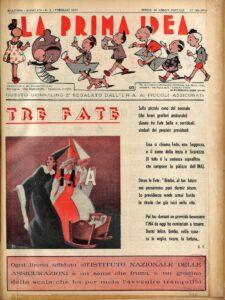 """""""La Prima Idea"""", front page (Bologna, anno XIV, n. 2, febbraio 1950)"""