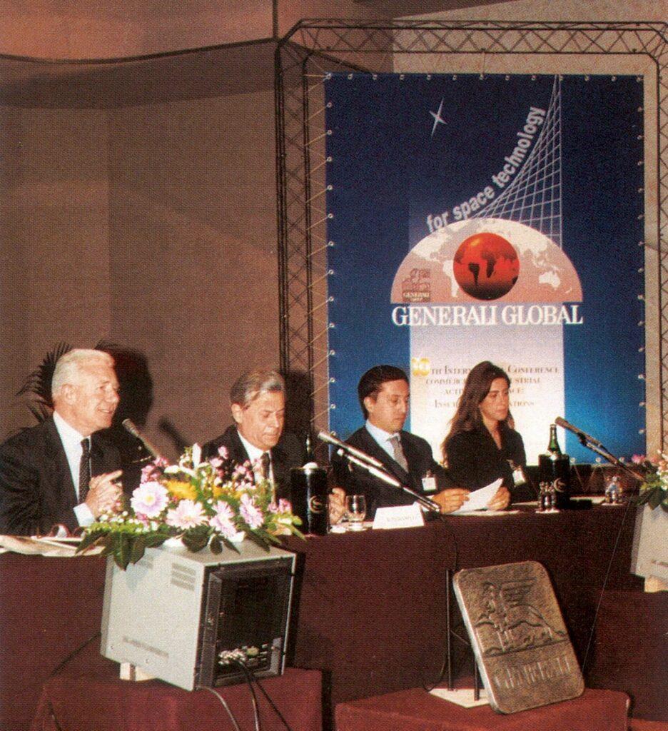 Discorso del presidente dell'ANIA Alfonso Desiata alla conferenza internazionale organizzata da Generali nel 1999 sullo sviluppo delle attività commerciali e industriali nello spazio (Firenze, 25 marzo 1999)