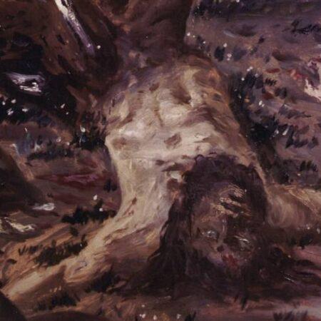 Giorgio De Chirico, Centauro morente (1909), particolare