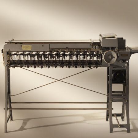 Sorting machine (1930s) / ph. Massimo Gardone