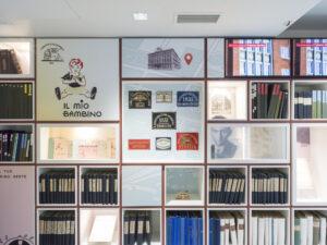 Palazzo Berlam, exposition room, particolare / ph. Schirra/Giraldi